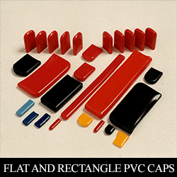 Flat and Rectangle PVC Caps