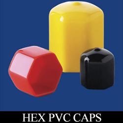 Hex PVC Caps