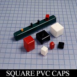 Square PVC Caps
